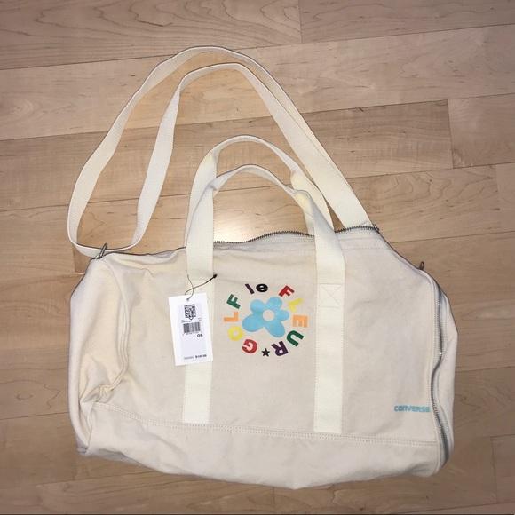 b6f93ecec1f60e Golf Wang X Converse duffel bag